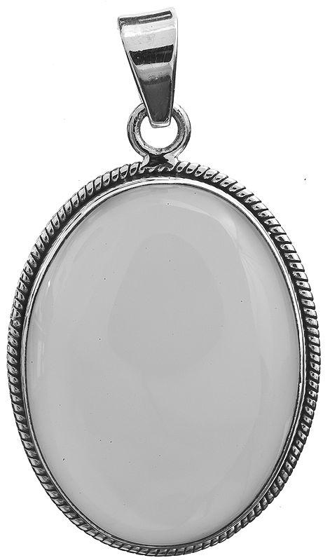 Peru Chalcedony Pendant