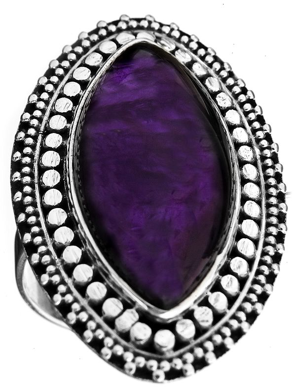 Amethyst Marquis Ring