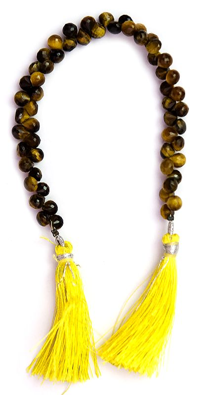 Faceted Tiger Eye Onions