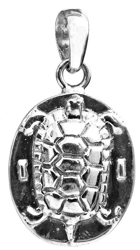 Sterling Tortoise Pendant