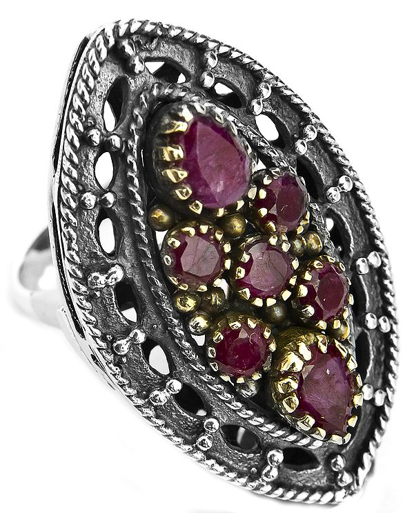 Victorian Ruby Ring