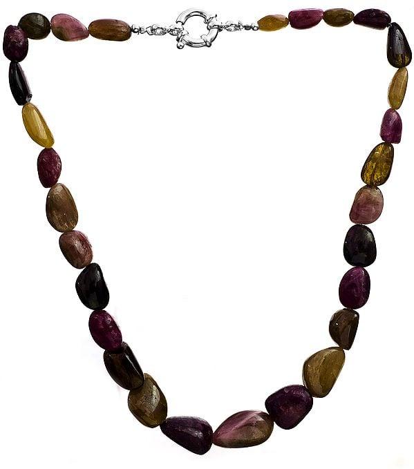 Tourmaline Nugget Necklace