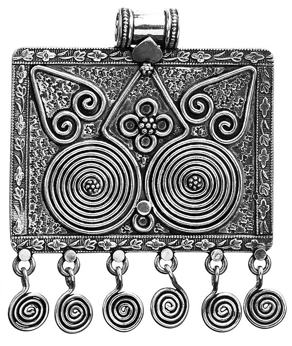 Sterling Spiral Pendant