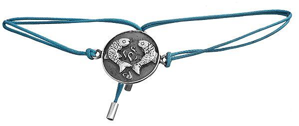 Fish Pair (Ashtamangala) PVC Wire Bracelet