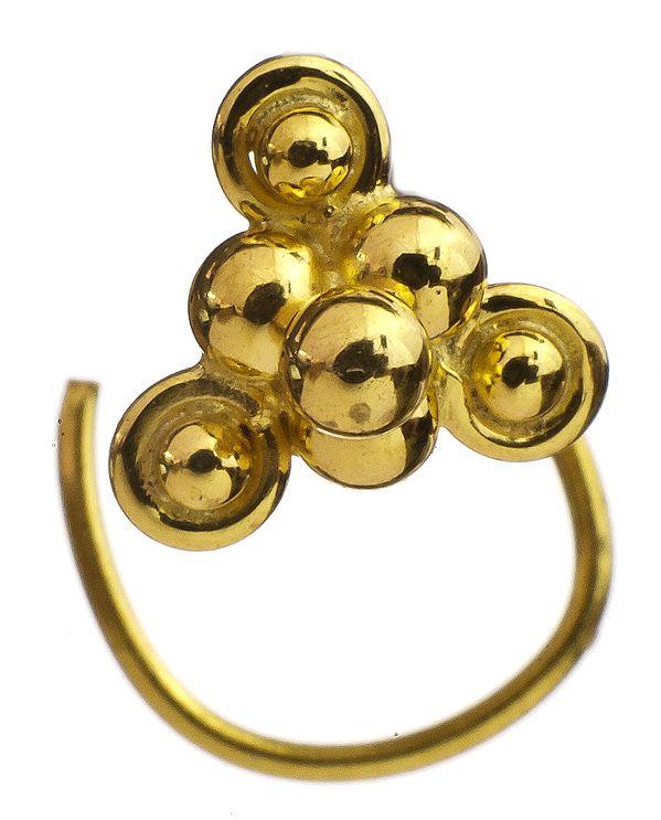 Seven-Grains Nose Pin