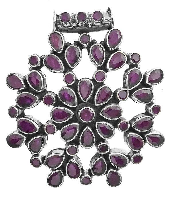 Chakra Pendant with Gems