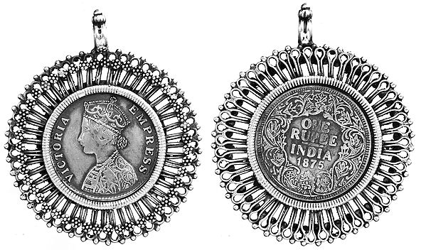 Empress Victoria Double-Sided Coin Pendant