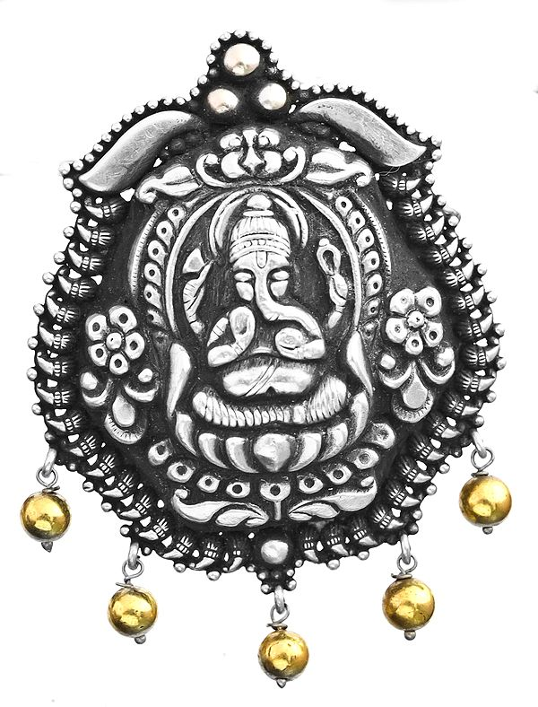 Bhagawan Ganesha Pendant (South Indian Temple Jewelry)