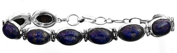 Lapis Lazuli Oval Bracelet