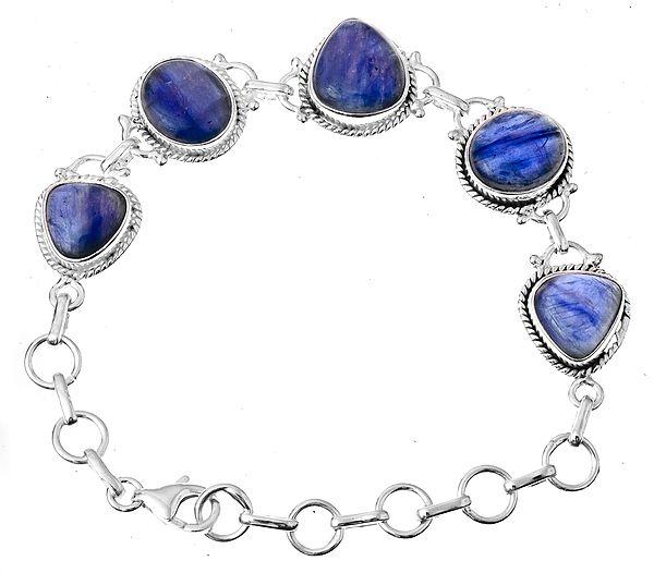 Multi-Shape Kyanite Bracelet