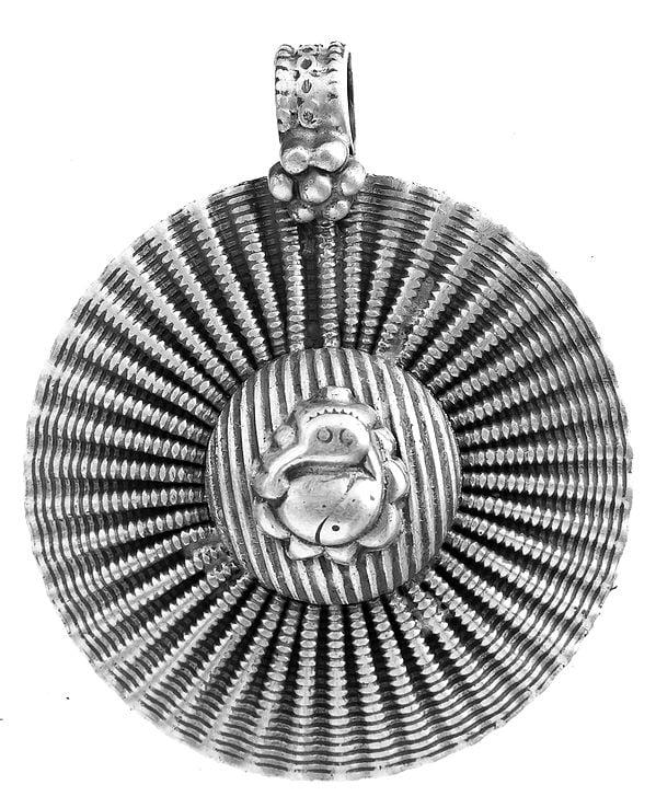 Lord Ganesha Chakra Pendant