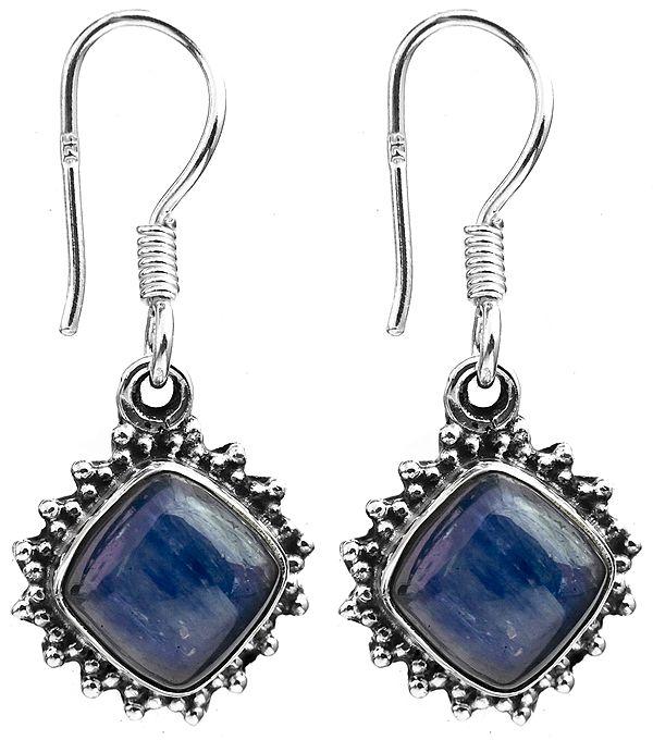 Kyanite Rhombus Earrings