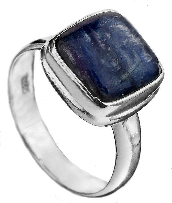 Kyanite Square Ring