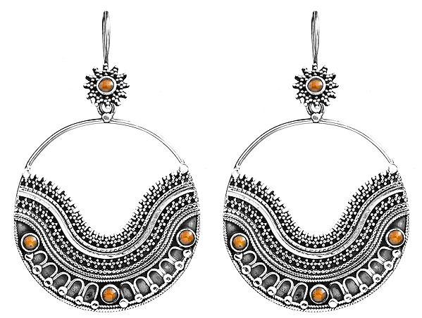 Earrings with Gems