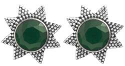 Star Tops with Faceted Gems