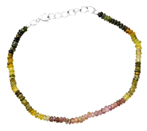 Tourmaline Rondells Bracelet