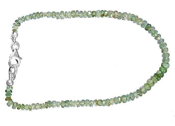 Emerald Rondells Bracelet