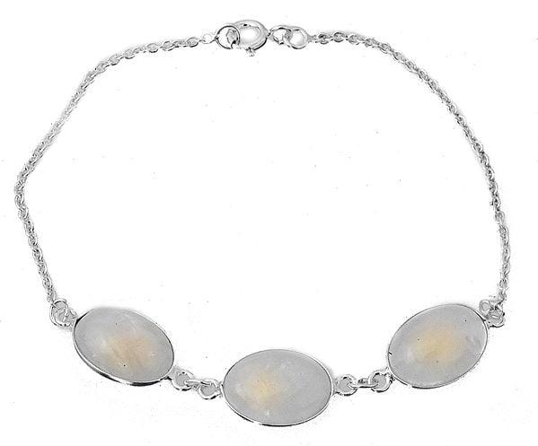 Gemstone Oval Bracelet