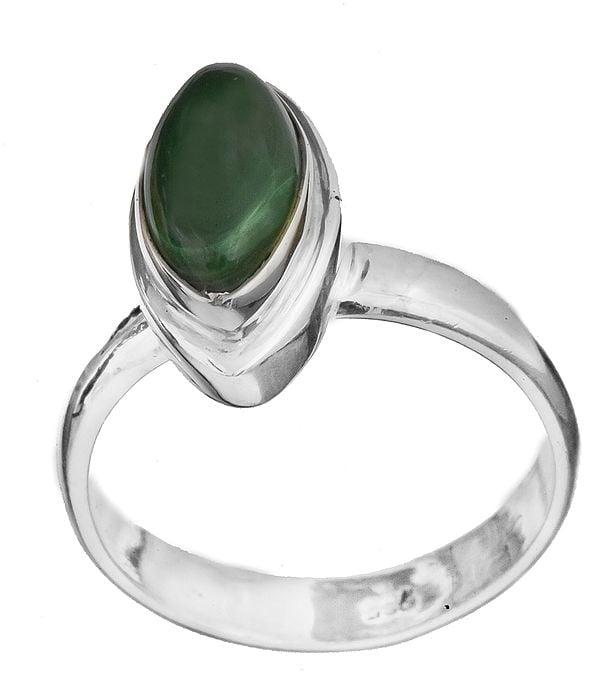 Gemstone Marquis Ring