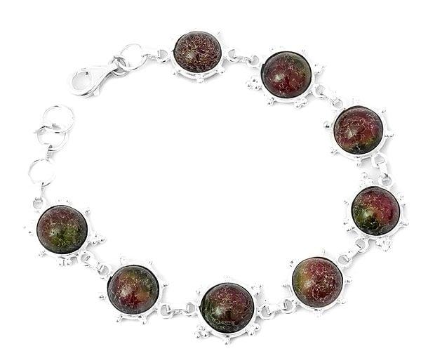 Gemstone Bracelet with Granulation