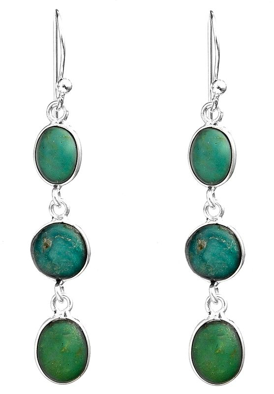 Turquoise Dangle Earrings
