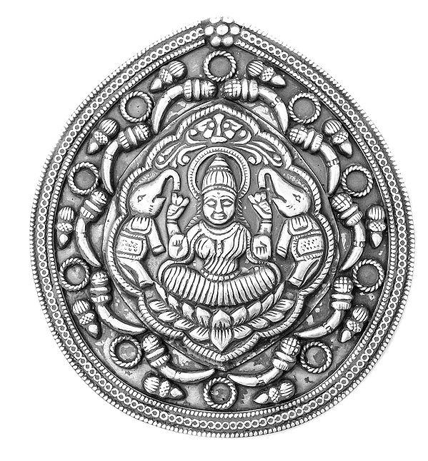 Gajalakshmi Large Pendant