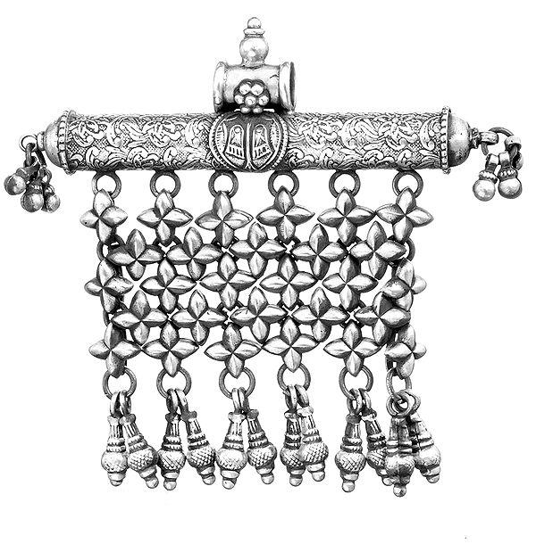The Lotus Feet (Charan Kamal) of Lord Vishnu (Pendant)