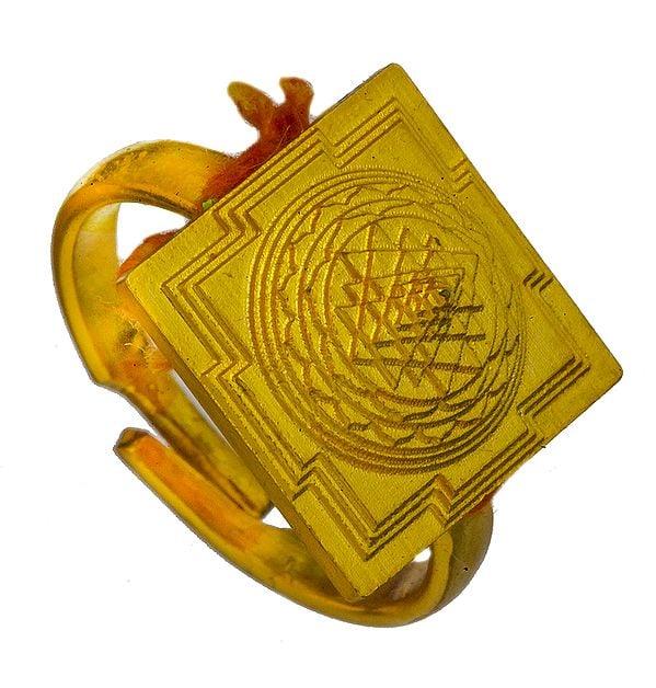 Shri Yantra Ring
