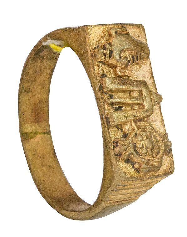 Vaishnava Symbol Ring