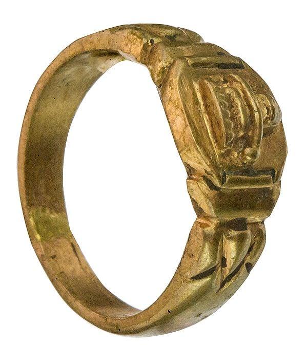 Heavy Shiva Linga Ring