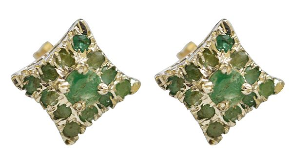 Faceted Emerald Tops