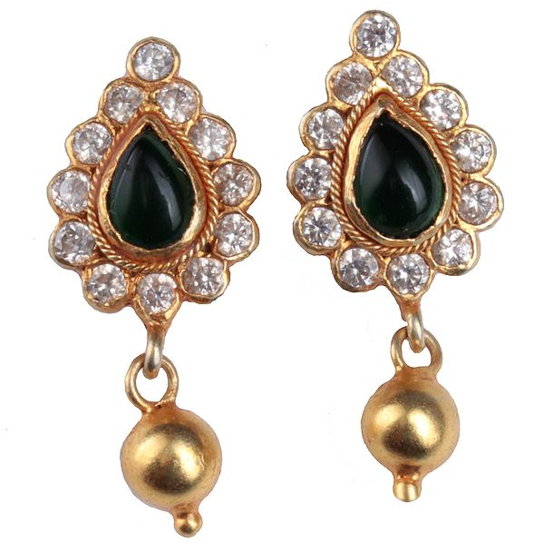Pear Tops (South Indian Temple Jewelry)