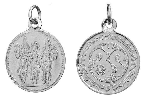 Meenakshi Thirukalyanam Pendant Depicting the Marriage of Lord Shiva and Parvati