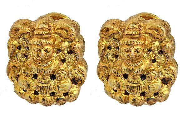Goddess Lakshmi Tops (South Indian Temple Jewelry)