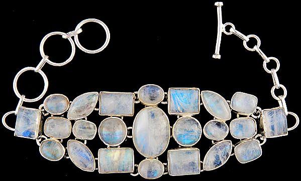 Rainbow Moonstone Marvel Bracelet