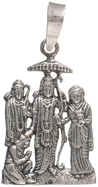Shri Rama Durbar Pendant