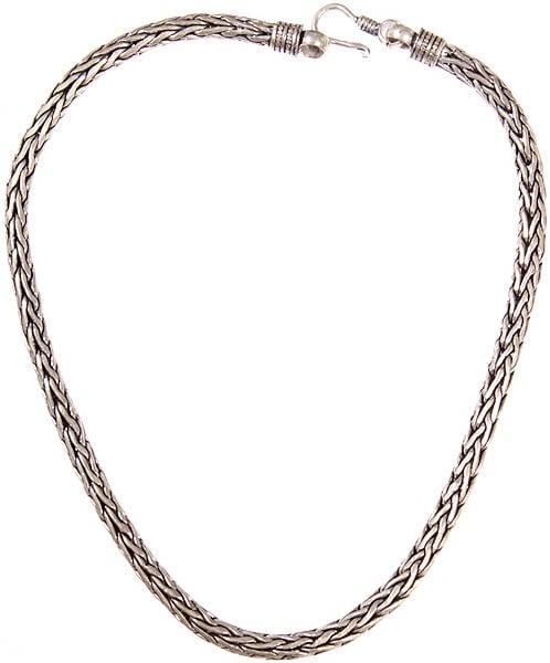 Sterling Snake Necklace