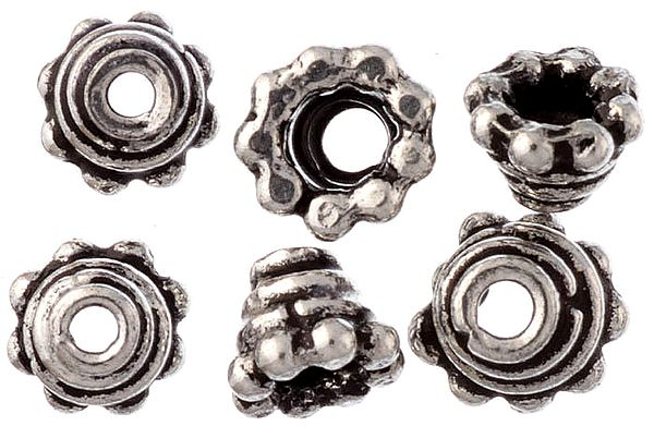 Sterling Spiral Caps Price (Price Per Six Pieces)