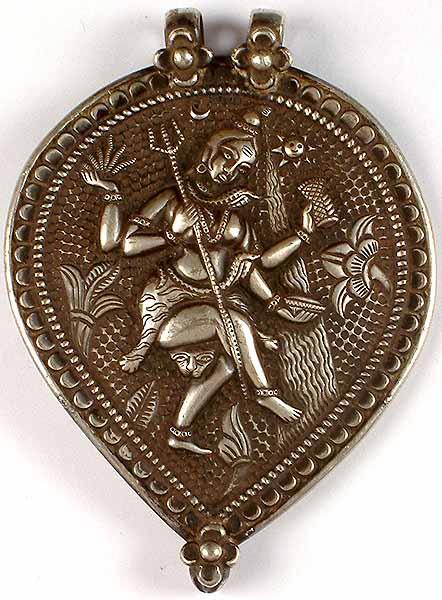 Antiquated Dancing Shiva Pendant