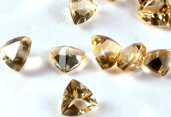 Citrine mm Trillions (Price Per 5 Pieces)