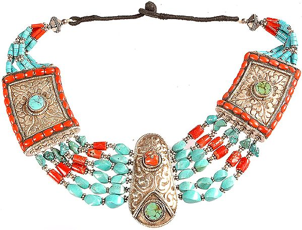 Collector's Necklace from Nepal