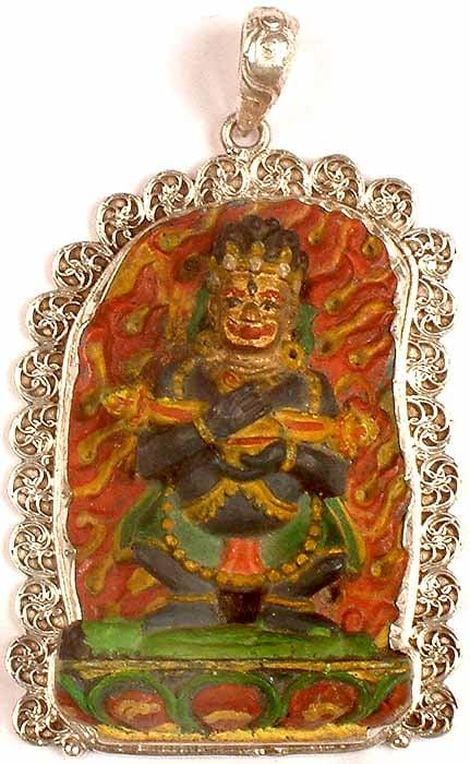 Dandapani Mahakala - The Protector of Buddhist Monasteries