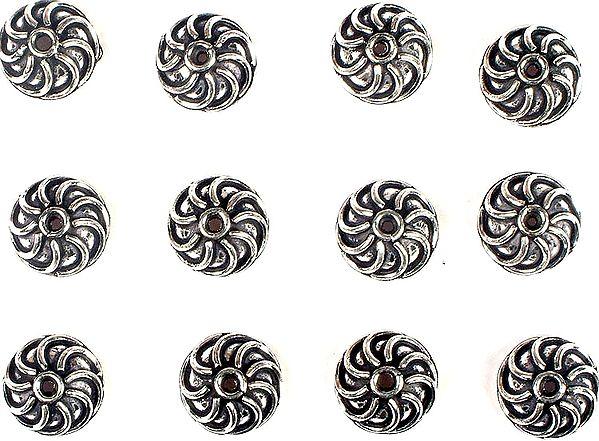 Designer Caps (Price Per Four Pieces)