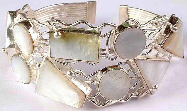 Designer Shell Bracelet