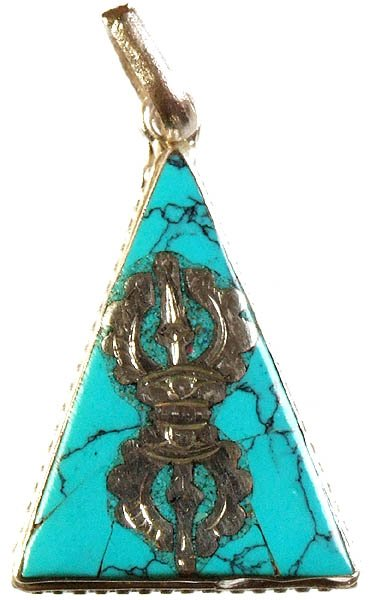Dorje Inlay Pendant