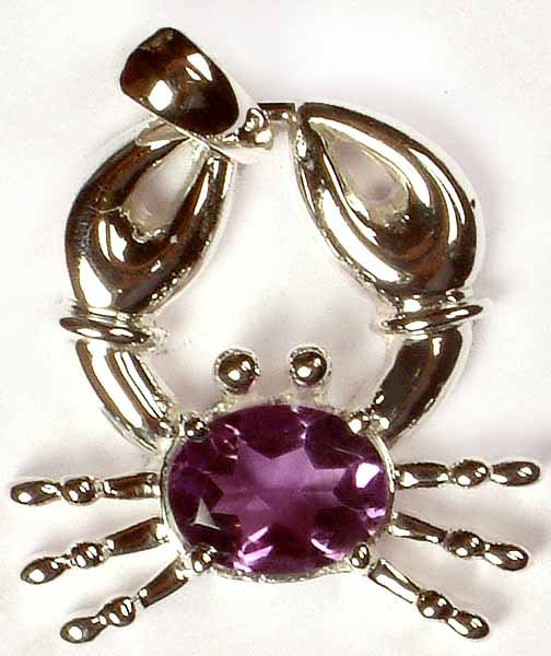 Faceted Amethyst Crab
