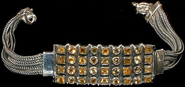 Faceted Citrine Marvel Bracelet