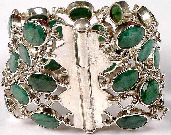 Faceted Emerald Splendor