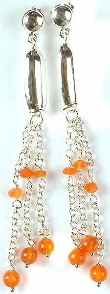 Fine Carnelian Earrings