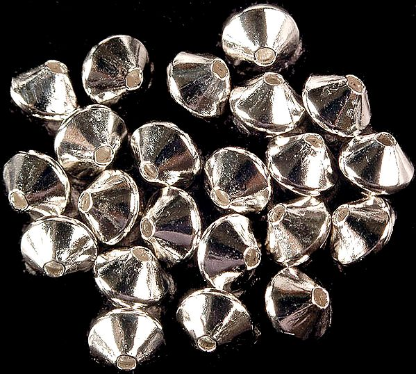 Fine Sterling Beads (Price Per Four Piece)